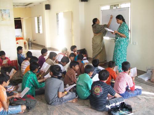 Bhaktin Rama mataji teaching story